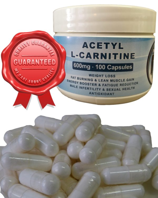 Acetyl-L-Carnitine 600mg Capsules