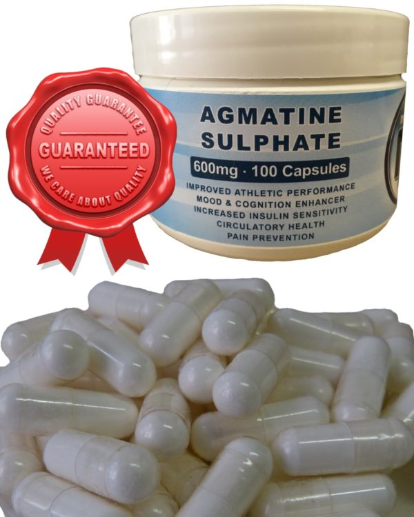 Agmatine Sulphate 600mg Capsules
