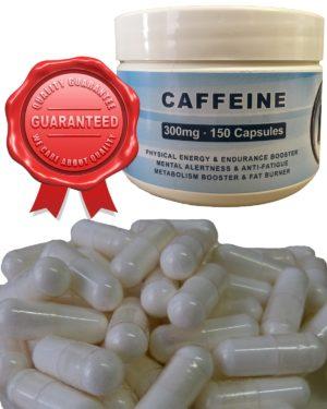 Caffeine Capsules 300mg