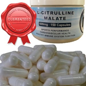 L-Citrulline Malate 600mg Capsules