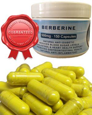 Berberine HCL 500mg Capsules