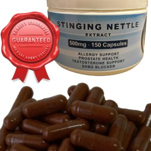 Stinging Nettle Extract 500mg Capsules