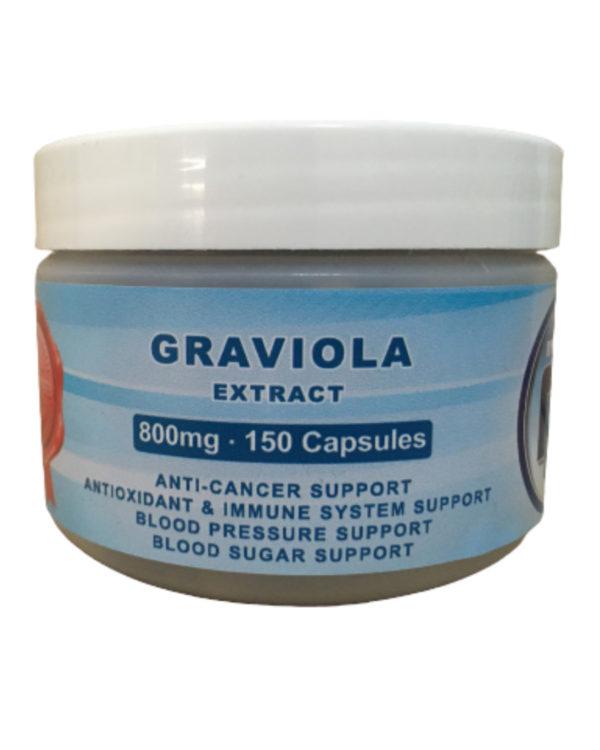 Graviola 150 Capsules (800mg)