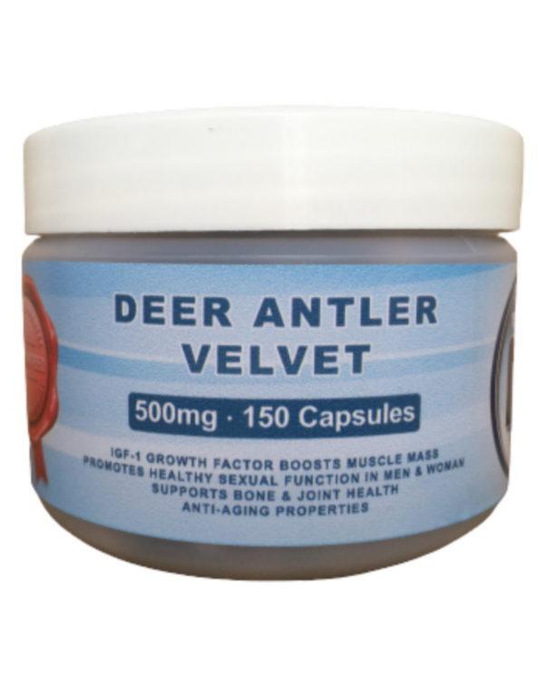 Deer Antler Velvet 150 Capsules (500mg)